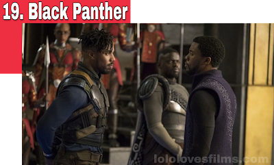 T'Challa and Erik Killmonger stare down Black Panther 2018 movie