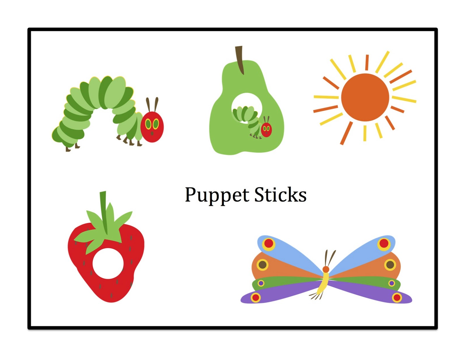 Free Hungry Caterpillar Mini Printable Preschool Printables