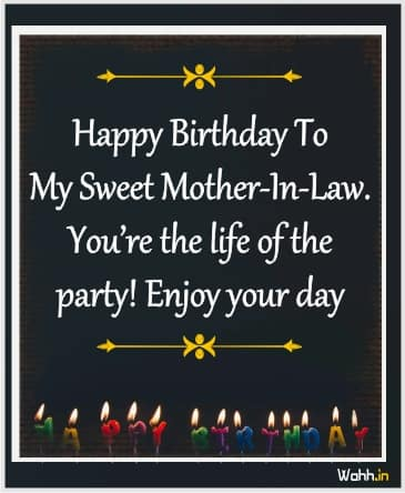 Birthday Messages For Your Mother In Law In english