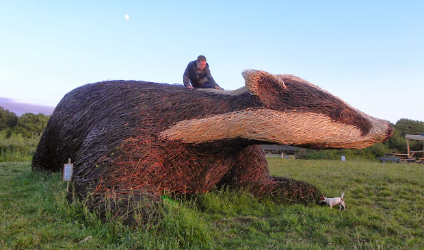 Michelle Cain Willow Sculpture Commissions