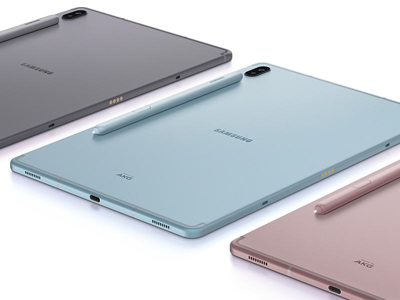 Tab S6 comes in three colorways