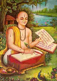 Tulsidas_composing_his_famous_Avadhi_Ramcharitmanas_rexgin