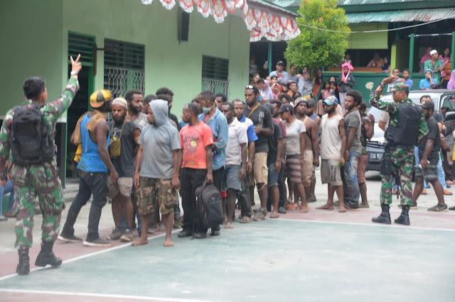 Buntut Demo Anarkis Di Papua, 300 Pendemo Mengaku Ditipu Koordinator Aksi