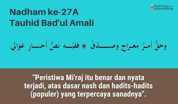 hukum tidak percaya mukjizat mikraj nabi muhammad