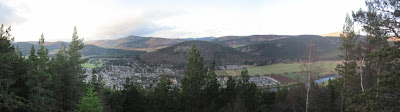 Deeside walks: the view from Craig Coillich, above Ballater