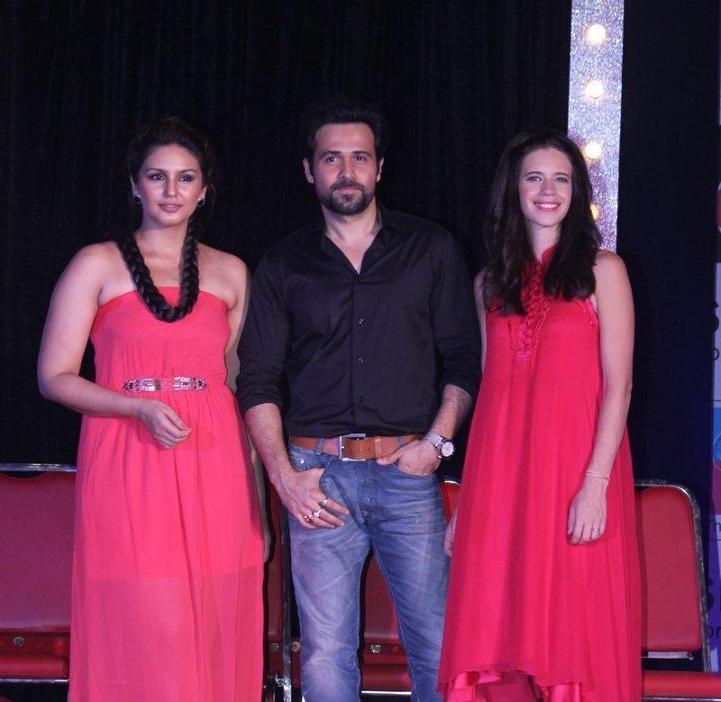 Huma Qureshi, Emran and Kalki Promoting Ek Thi Dayaan