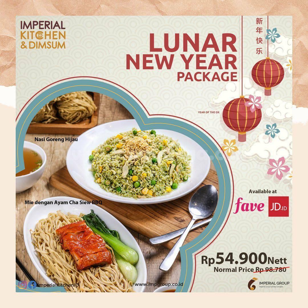 IMPERIAL KITCHEN Promo Paket Lunar New Year! via FAVE dan JD.ID