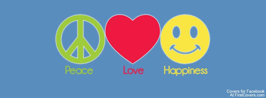 Capas para Facebook Paz amor e Felicidade - Capa para ...  Capas para Face...