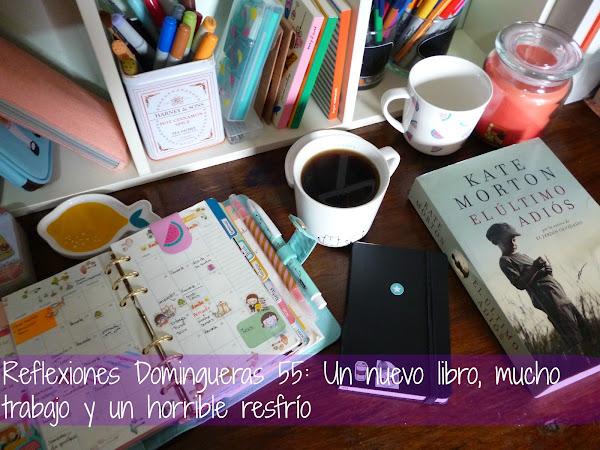 Reflexiones Domingueras 55: Un nuevo libro, mucho trabajo y un horrible resfrío