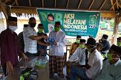 DPC PKB Kabupaten Maros Bagikan Masker Kepada Masyarakat