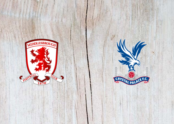 Middlesbrough vs Crystal Palace - Highlights 31 October 2018