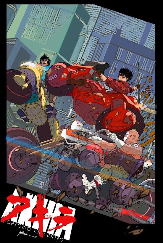 Akira - Capsules vs. Clowns - Illustration Guilherme Balbi