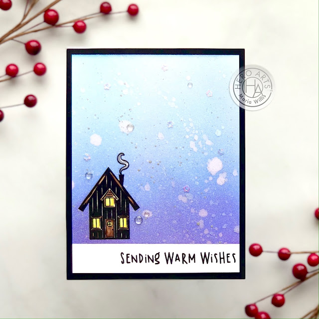 #heroarts,My Monthly Hero Kit November 2020,#cards,#greetingcards,#stamps,#stamping,#handmade,#art,#color,#diy,#christmas,winter,holiday,