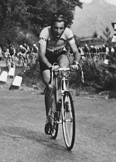 Once Coppi had the lead in a race, he  was often not caught