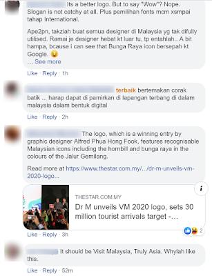Logo Baru Tourism Malaysia 2019 Kena Kecam