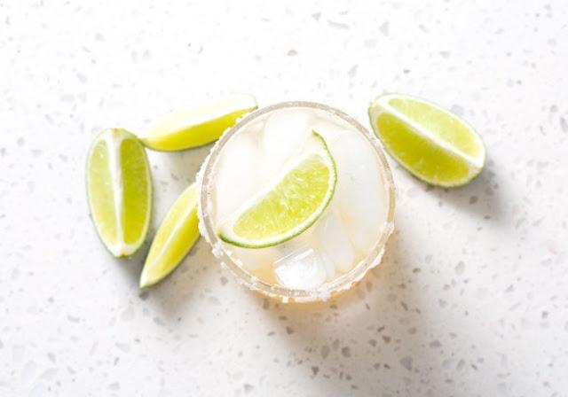 Margarita Mocktail #nonalcohol #drinks