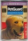 Picture of Petguard Lamb & Brown Rice Dinner Canned Adult Dog Food