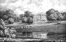 Oatlands from Select illustrations of the County of Surrey by GF Prosser (1828)