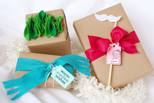 Martha Stewart Wedding Gift Ideas: Brown Paper Packages Tied Up With EVERYTHING {including