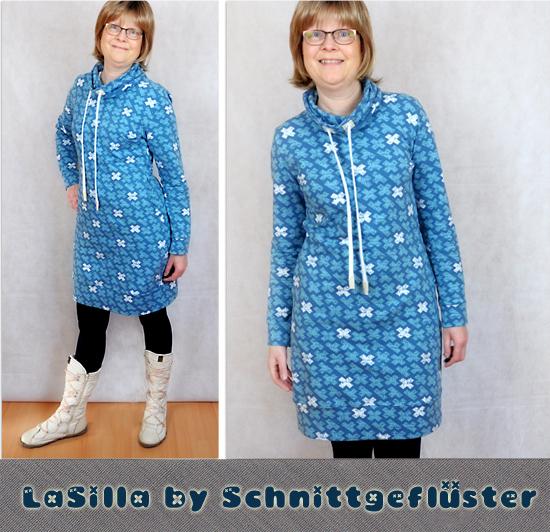 Sweatkleid LaSilla by Schnittgeflüster