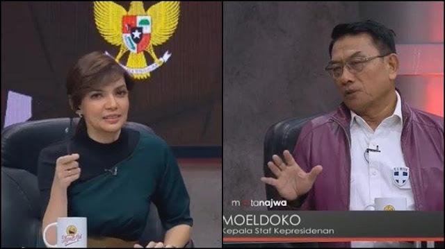 Dicecar Najwa Shihab soal Jeda 10 Hari Video Marah Jokowi, Moeldoko: Itu Strategi