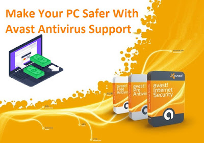 Make Your PC Safe With Avast Antivirus Support