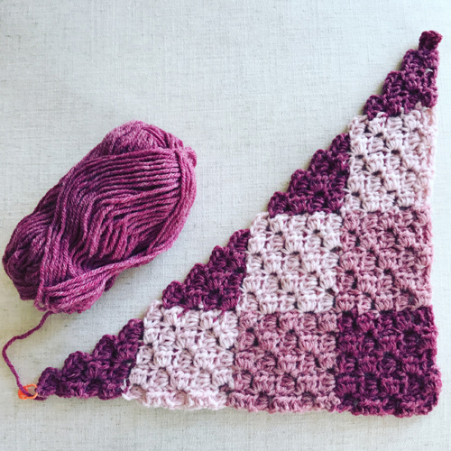 Gingham Crochet C2C - Free Pattern