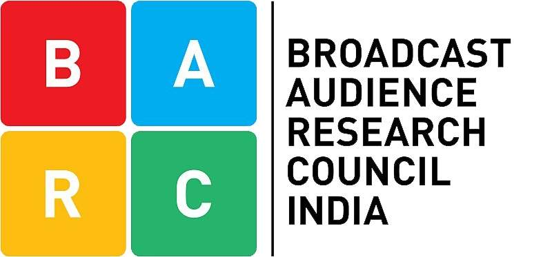 BARC India Logo; Indian TV Channels TRP Rating
