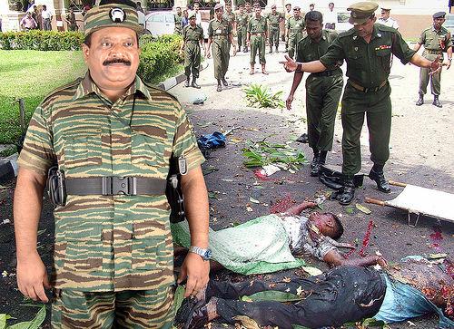 LTTE Prabhakaran and Son Tortured/killed Point Blank