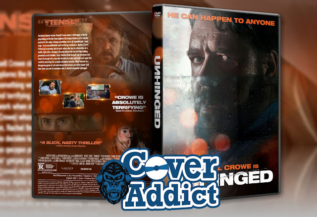 Unhinged (2020) DVD Cover