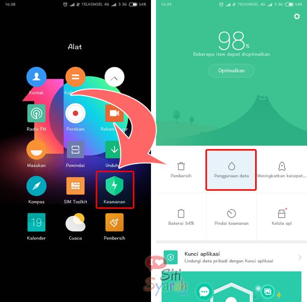 blokir akses internet aplikasi android