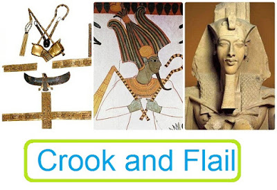 Crook and Flail Meaning