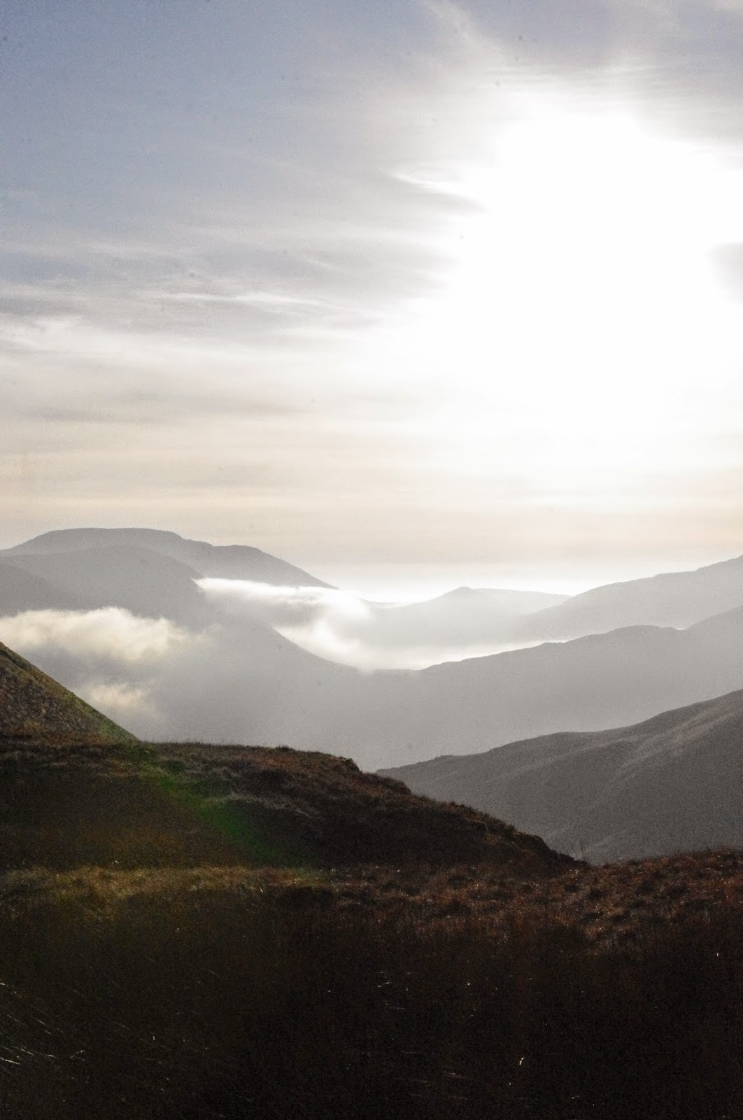Lake District Cumbria Haystacks Mountain Climbing Walking Inversion