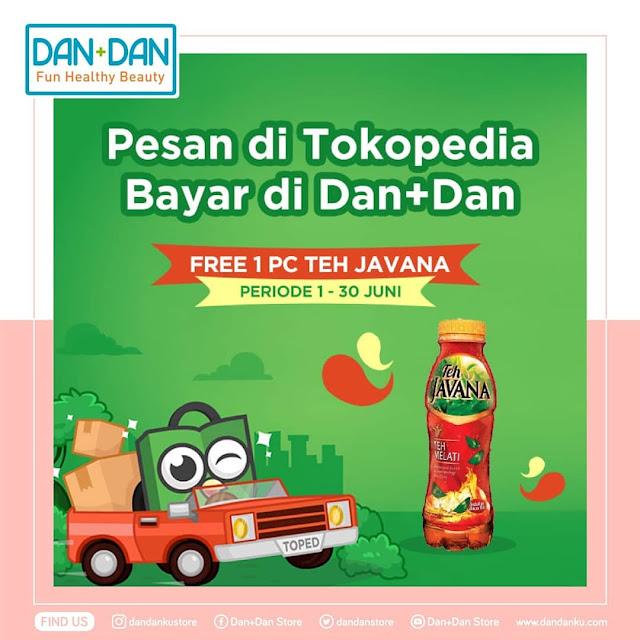 #DanDan - #Promo Bayar Pesanan Tokopedia Gratis 1PC Teh Javana (s.d 30 Juni 2019)