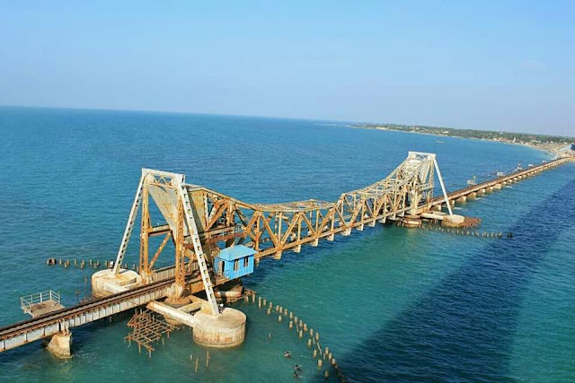 The most dangerous sea bridge in India, click to see