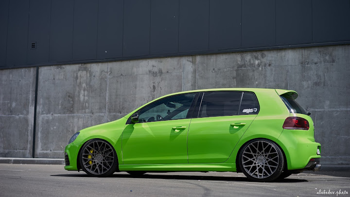 green Golf 6R# nothing_extra Rotiform BLQ