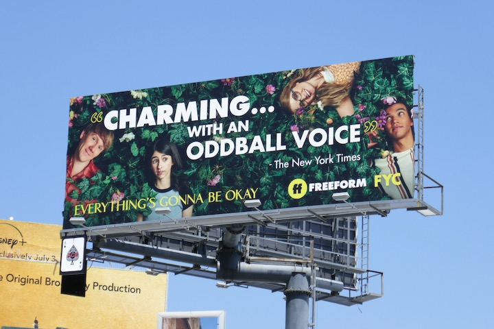 Everything Gonna Be Okay Emmy FYC billboard