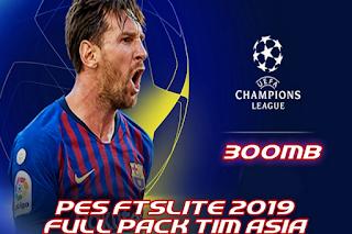 Download FTS Lite Mod PES Asian League 2019 Apk Data Obb
