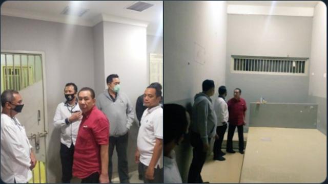 Heboh! Beredar Foto Djoko Tjandra.. Netizen: Ini Tahanan apa Gaya Bos Lagi Cek Ruangan?