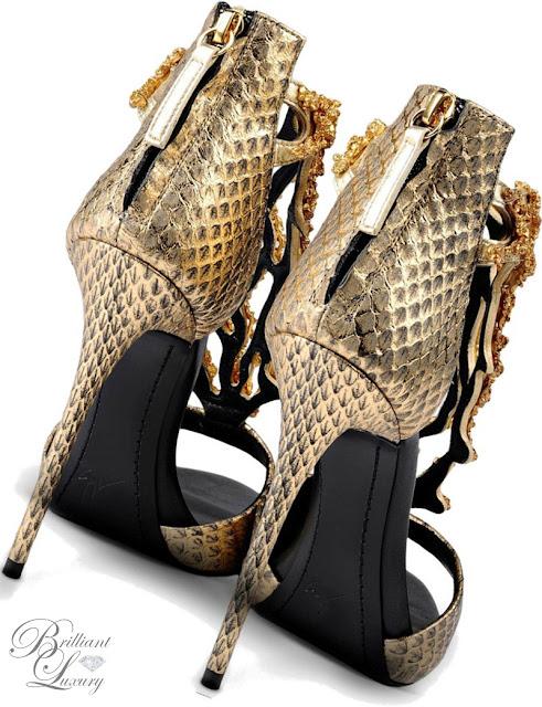 Brilliant Luxury ♦ Giuseppe Zanotti 'Ariel'