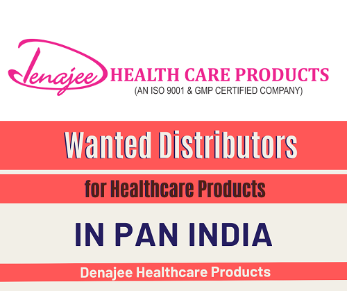 Wanted Distributors for Healthcare Products in Pan India