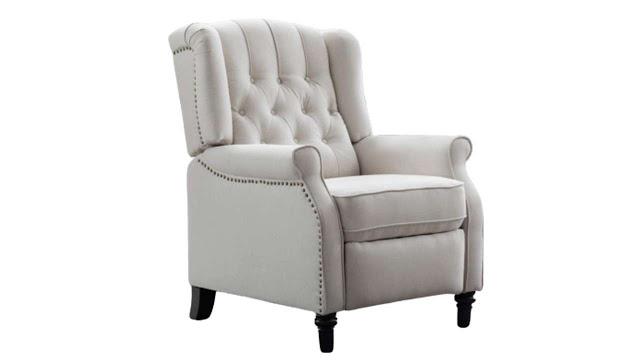CANMOV Elizabeth Fabric Arm Chair