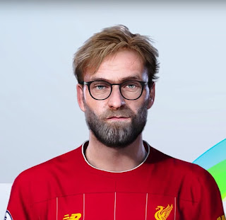 PES 2020 Faces Jürgen Klopp by WhoamI
