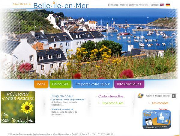 Belle ile en mer autrefois office de tourisme de belle - Office du tourisme belle ile en mer ...