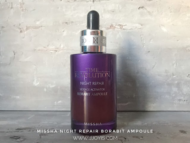 Review: Missha Time Revolution Night Repair Ampoule