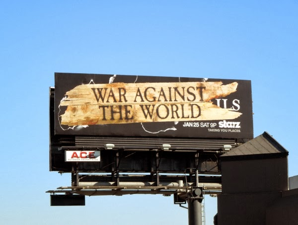 Black Sails War Against The World billboard Sunset Strip