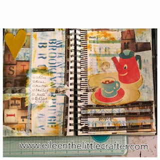 Mix media Monday page - Eileen the little crafter