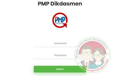 Login Aplikasi PMP 2019