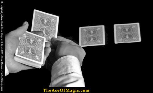 Learn Card Magic Tricks Online - Cesar Domico - Book: Basic Magic with Cards