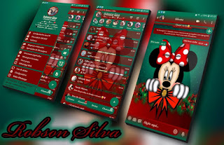 Mickey Cute Theme For YOWhatsApp & Fouad WhatsApp By Robsson